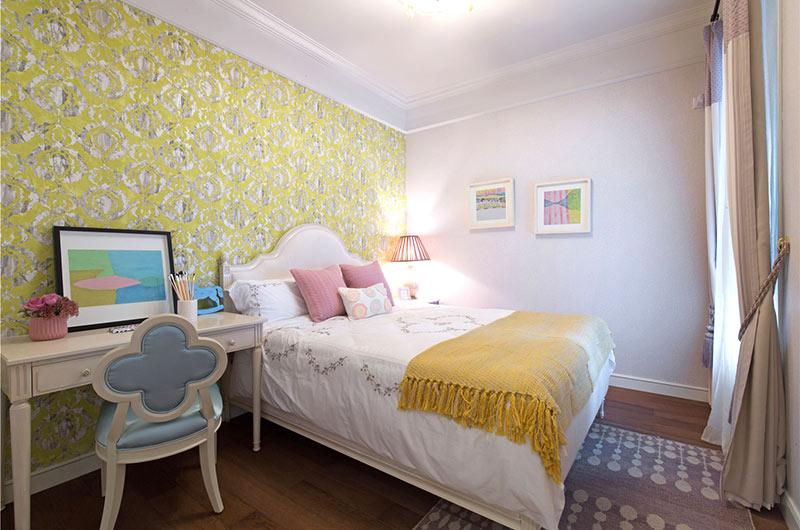 80平美式风格二居儿童房效果图设计