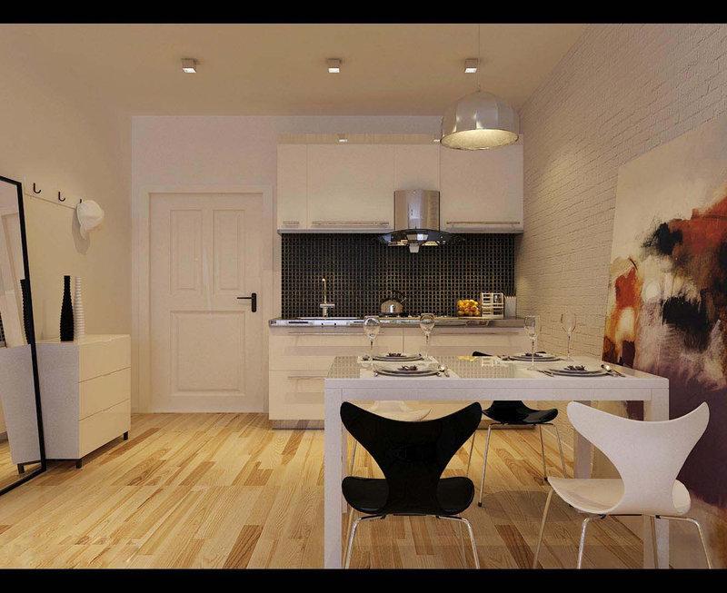 50平米公寓装修效果图_50平米一室一厅装修