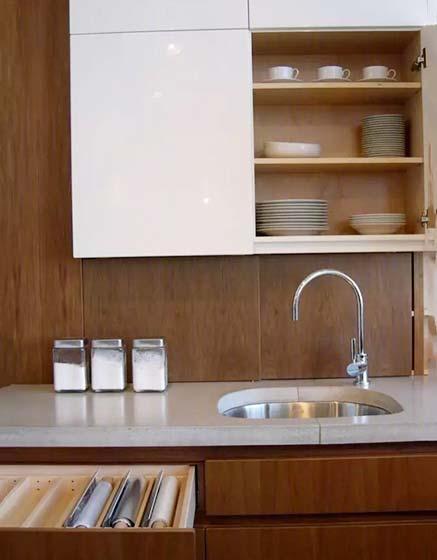 厨房收纳柜装修装饰效果图