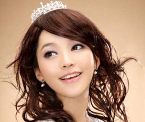 甜美可爱新娘发型图片欣赏