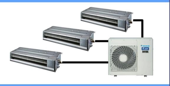 中央空调与分体式空调的区别 中央空调,就是由室外机带动多台室内机的空调,分体式空调,是一台室外机配一台室内机的空调。从功能上来说,中央空调一外机多内机的相当于几台分体式空调,但是中央空调在用电时可实现每个房间单独控制,这样看来其用电量小于每个房间装一台空调的用电量之和,并且使用效果也更好,运行费用也低于分体式空调。