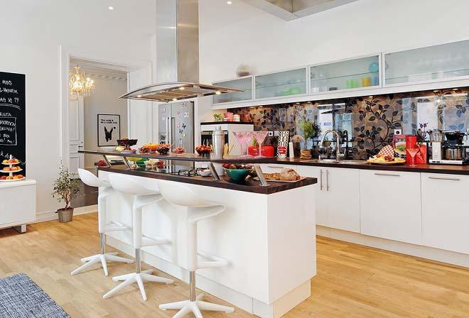 北欧风格厨房装修装饰效果图