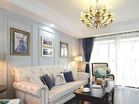120平美式风格三室两厅装修 韵沫之家