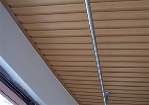 阳台吊顶有哪些材料-铝扣板