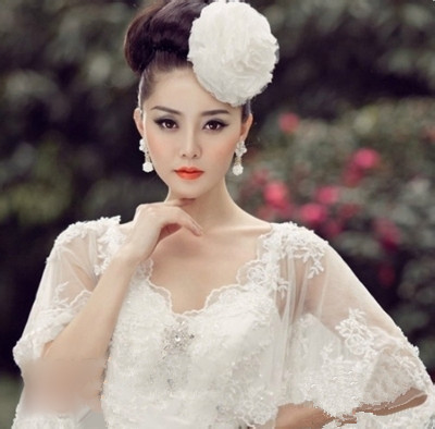 新娘妆盘头造型2017款 该如何打造新娘盘发造型