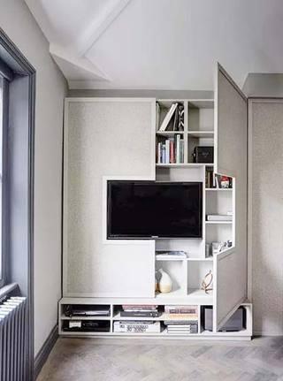 电视背景墙设计欣赏图