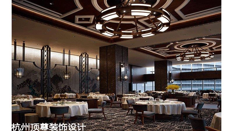 港式中餐厅效果图图片