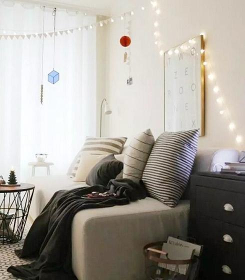 小户型客厅装修装饰参考图