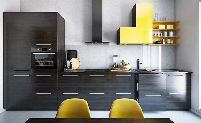 现代风厨房图片大全
