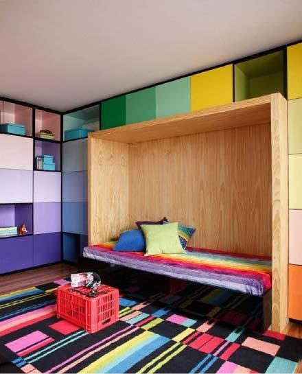色彩儿童房设计欣赏图