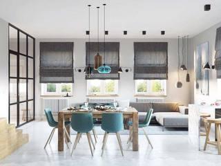 现代风格餐厅窗户图片
