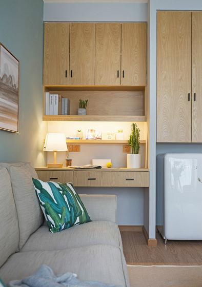 60平小户型装修效果图收纳柜设计
