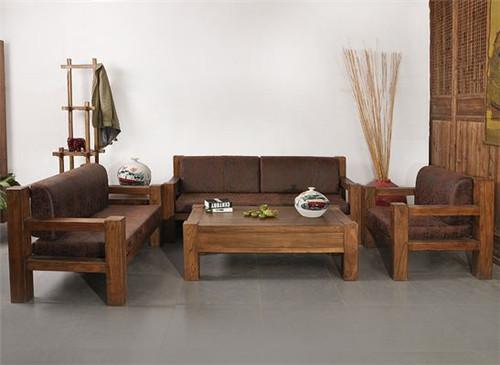 榆木沙发一般多少钱 纯榆木沙发五件套价格及图