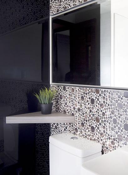 70平两居室北欧风格装修效果图浴室图片