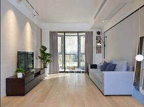 100平北欧风格两居室装修效果图 10万搞定软硬装