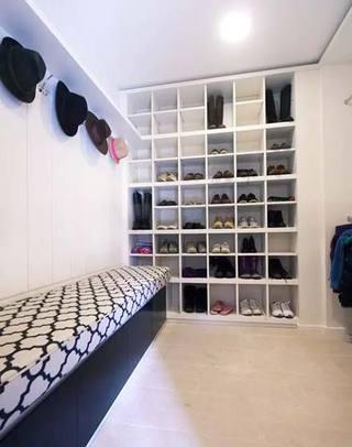 鞋柜设计摆放图
