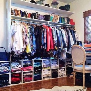 衣柜收纳设计平面图