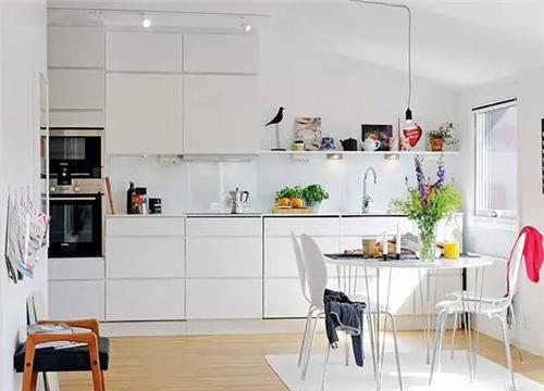 北欧厨房装修效果图 北欧风营造清新自然烹饪空间图片