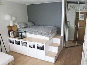 家居收纳利器  10款收纳床装修图