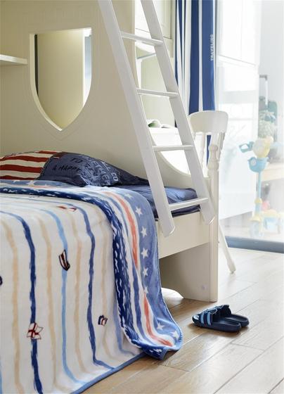 简约风格大户型装修子母床图片