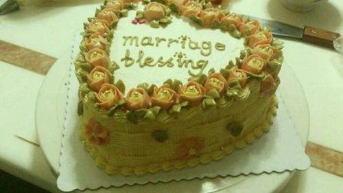 结婚纪念日蛋糕写什么 结婚纪念日创意蛋糕图图片