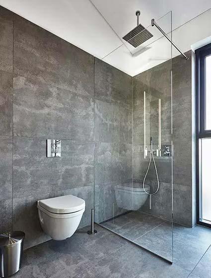 卫生间干湿分离布置设计图