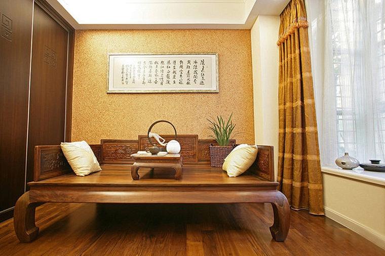 30万搞定四室两厅装修沙发床图片