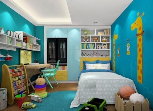资讯 案例 按空间查看 正文  儿童玩具房的门窗设计,要尽量高些,防止图片