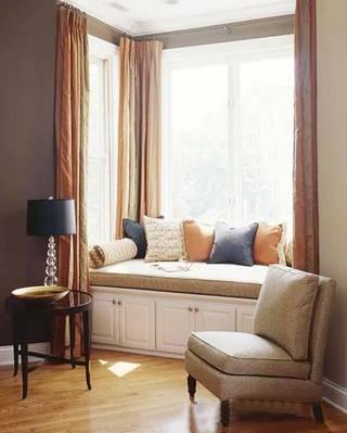 增加了一点点空间  10款卧室飘窗装修图2/10