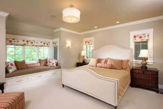 增加了一点点空间  10款卧室飘窗装修图10/10