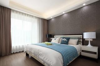 140平现代混搭风格装修卧室效果图