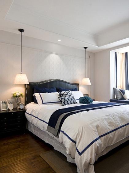 法式装修两居室卧室图片