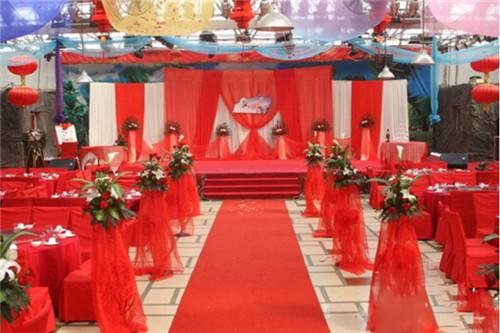 农村结婚现场布置图片 让您的婚礼更自然唯美图片