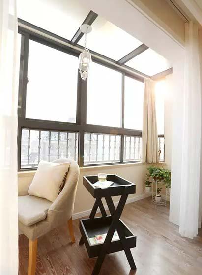 室内阳光房设计构造图