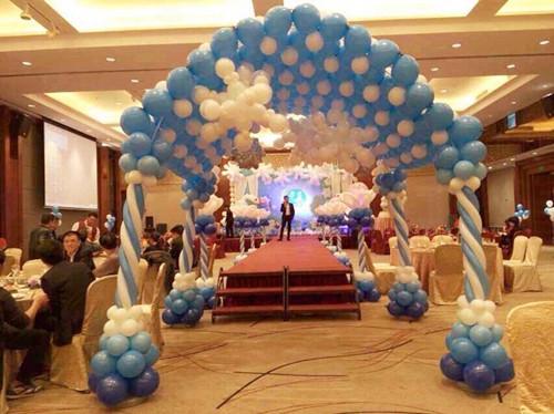 婚宴气球布置方案 让气球点缀你的浪漫婚礼