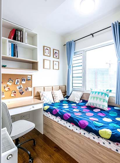 日式两居室儿童房图片大全