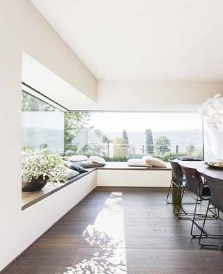 窗外的清新色  10款室内飘窗设计实景图5/10