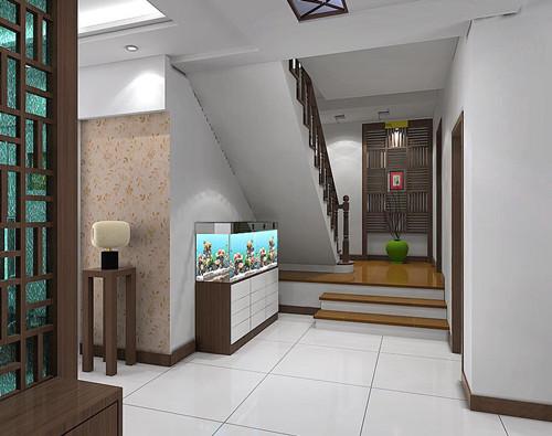 楼梯口装修效果图 打造出意想不到的楼梯空间