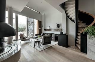 简约风格别墅设计楼梯设计图