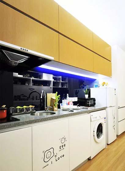 厨房洗衣机平面图