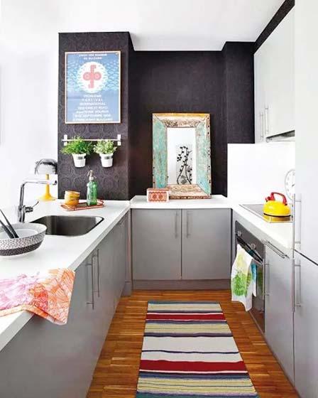 开放式厨房设计构造图