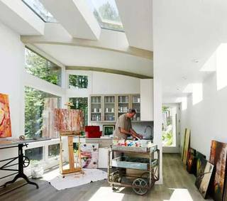创意窗布置构造图