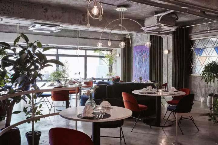 餐厅装修效果图设计平面图