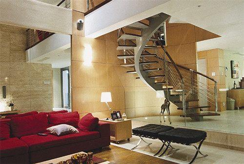 客厅楼梯装修风格有哪些?客厅楼梯装修效果图案例分析