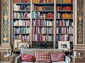 装饰阅读  10款书架背景墙设计图