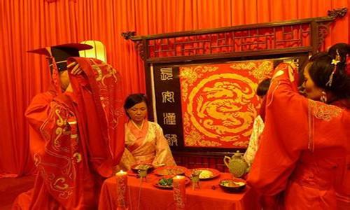 汉朝婚礼流程 汉式婚礼步骤全过程_婚嫁习俗_婚庆百科