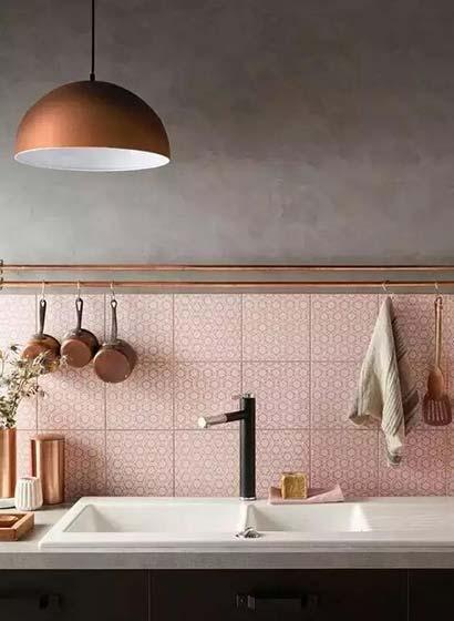 厨房花砖欣赏效果图