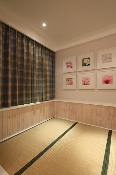 宜家风格两居室装修榻榻米图片