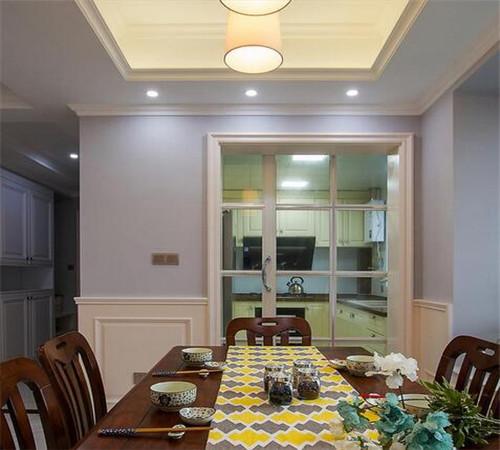 121平方房子装修效果图 15万打造清新简美三居室