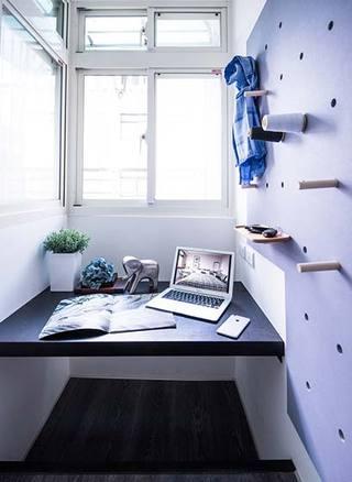 80㎡混搭两居室设计实景图